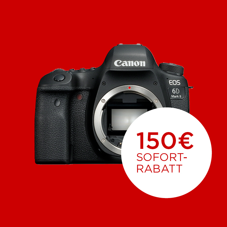 canon eos 6d mark ii red