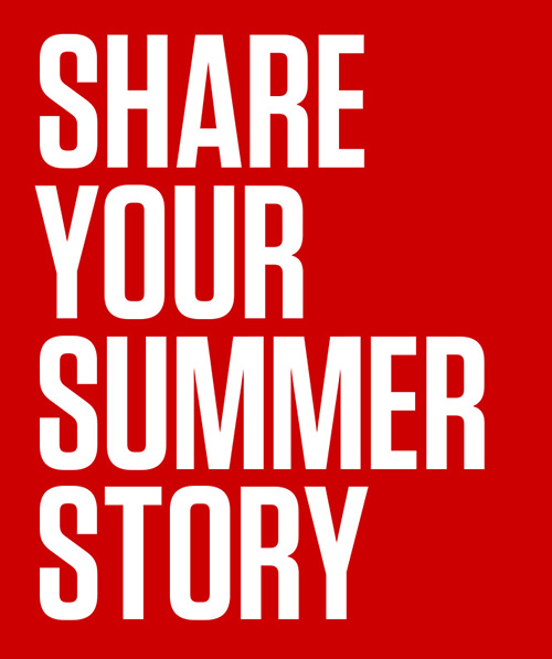 share your summer story